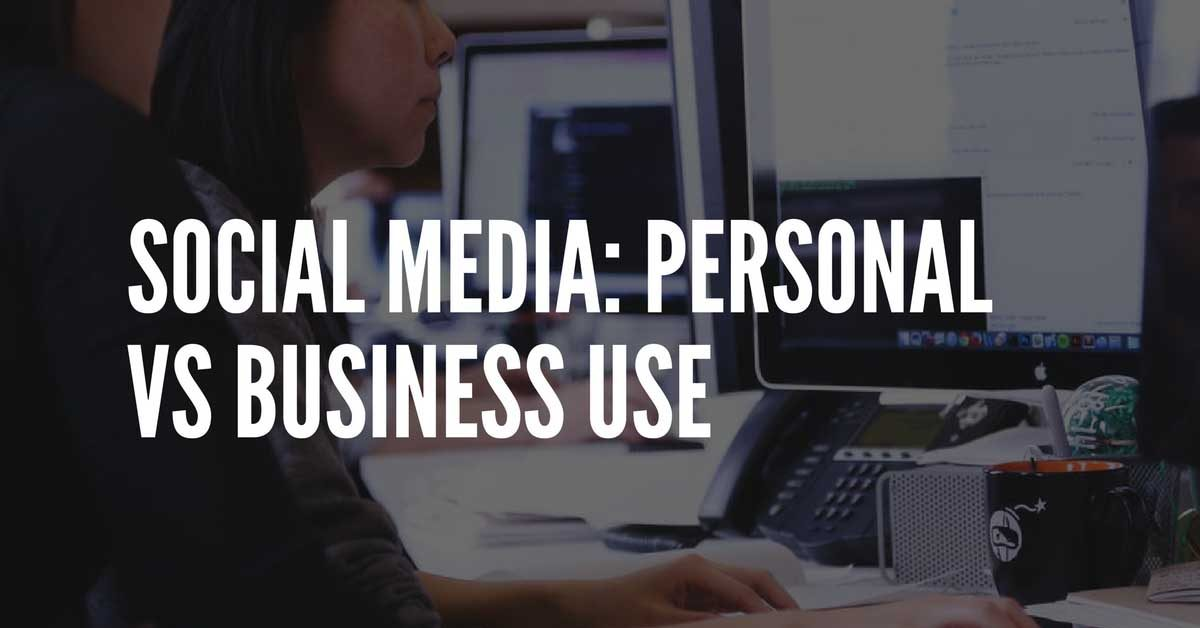 using social media for businesses
