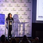 beverley presenting at social west