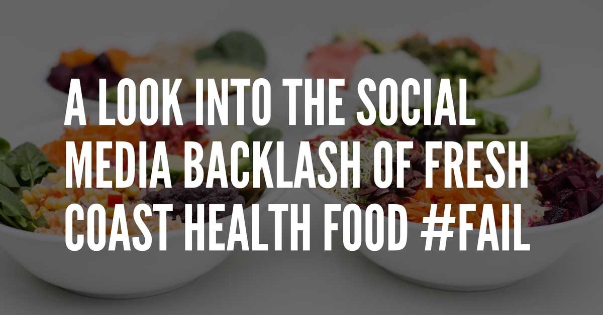 fresh coast health social media backlash