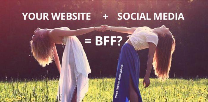 optimize your website for social media