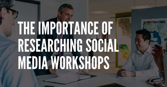research workshops before attendance