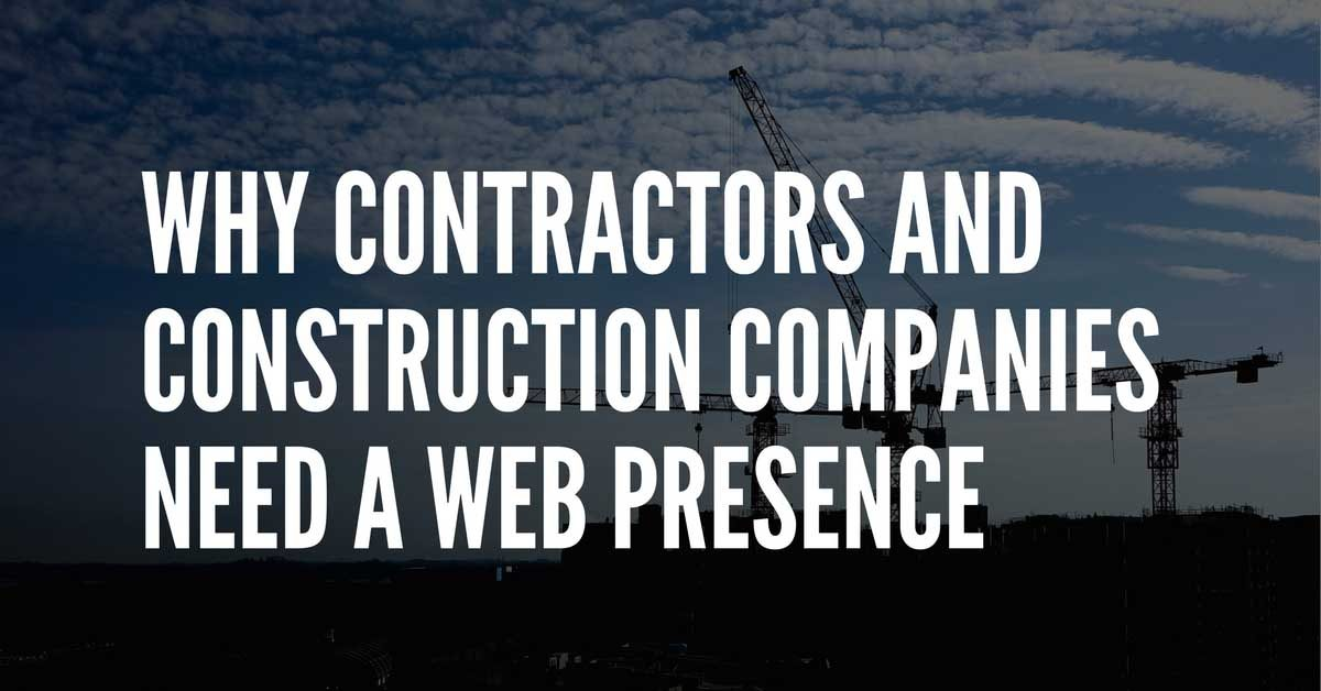 contractors and construction digital strategy