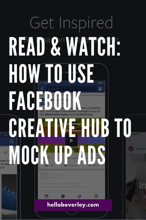 Facebook just launched Creative Hub! Let's take a first look at the new feature and all the bells and whistles.