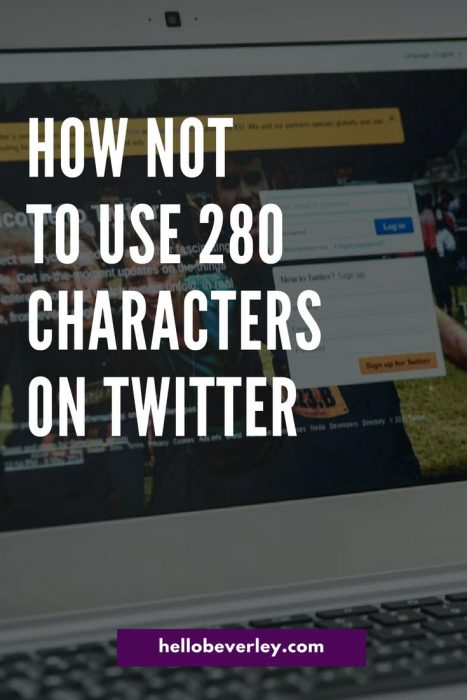 Twitter recently changed their character limit from 140 to 280. How are people using the opportunity to double their message length?