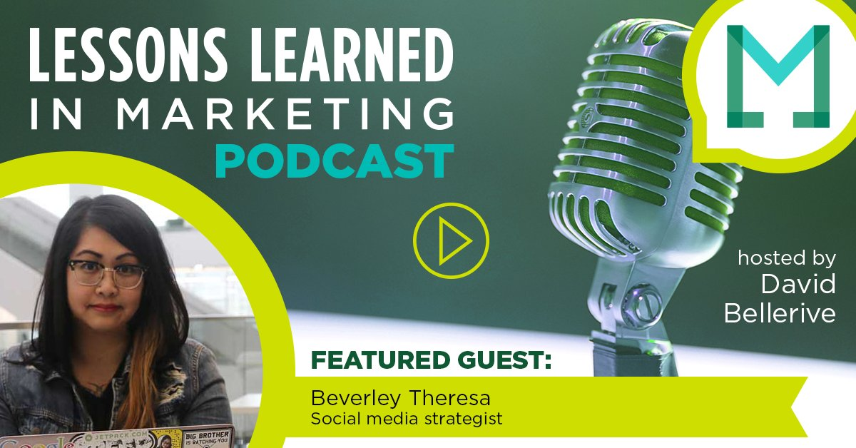 lessons learned in marketing podcast
