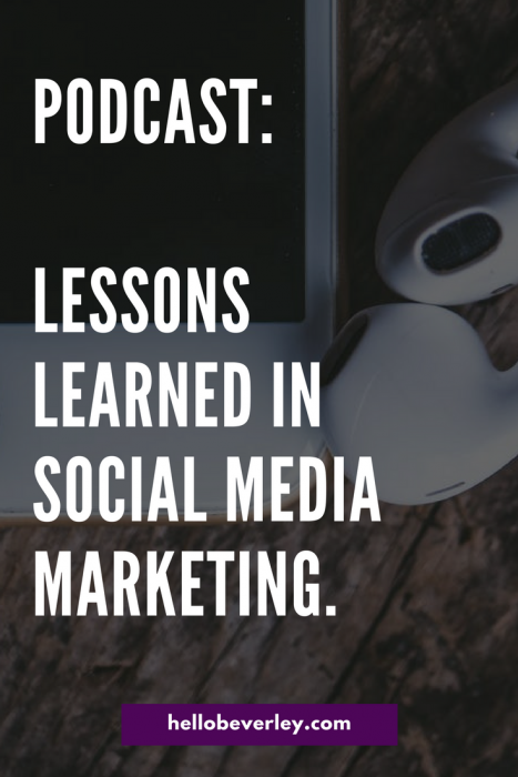In episode 32, we talk about what businesses are struggling with when it comes to social media marketing, the time investment and more.