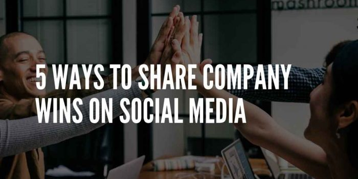 how to share business on social media