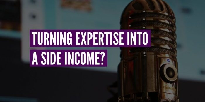expertise side income