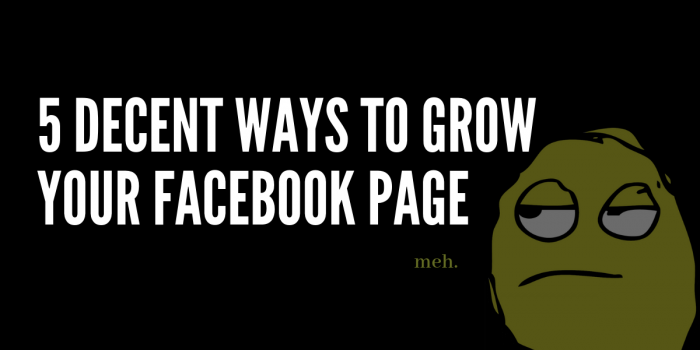 facebook growth strategies