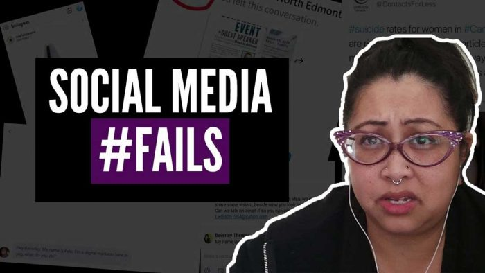 how to fail at social media
