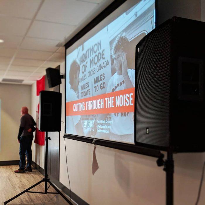 non profit speaker and presenter