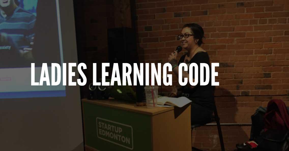 ladies learning code edmonton
