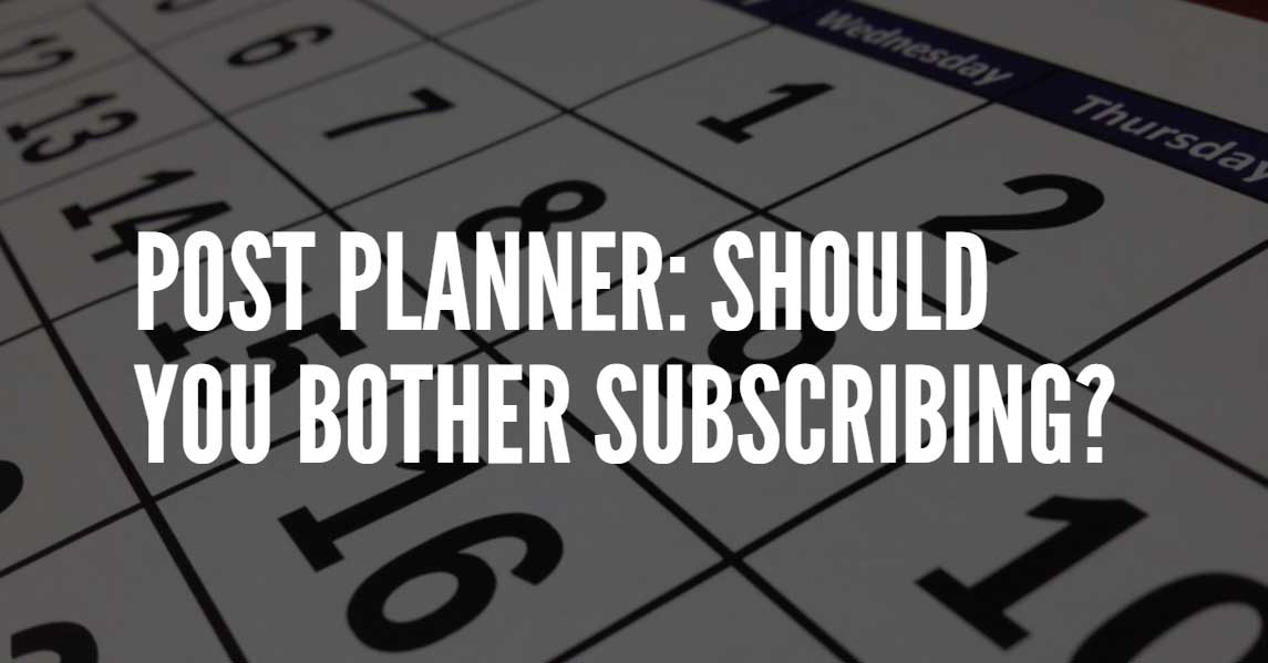 review of the social media app post planner