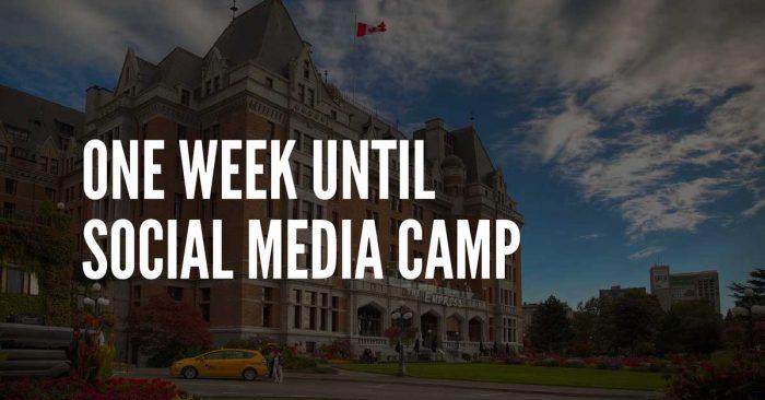 social media camp victoria