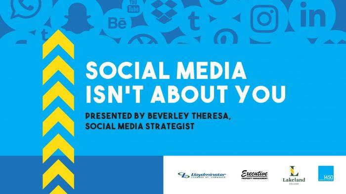 social media presentation - western canada