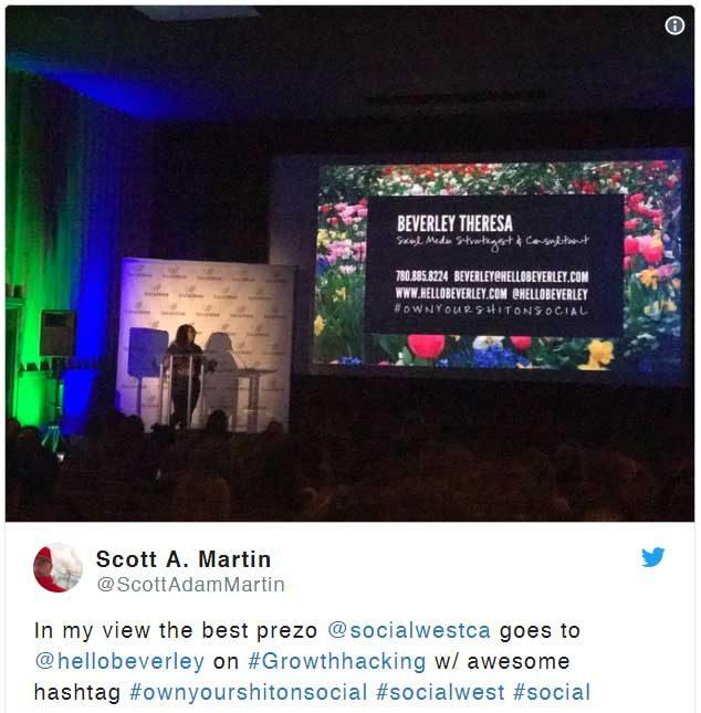 best-presentation-at-social-west