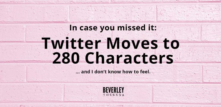 twitter changes character limit to 280 characters