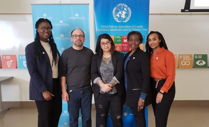 working with united nations of canada